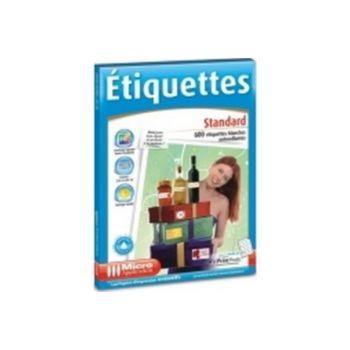 Micro Application etiquettes standard
