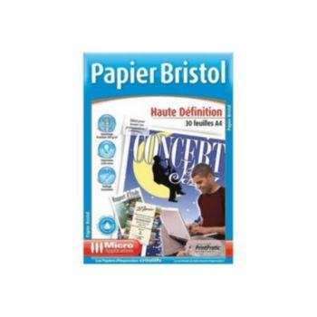 Micro Application 30f A4 Bristol Recto Verso