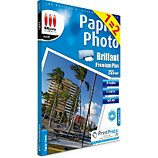 Papier photo Micro Application Photo 1=2 A4 Brillant 255g/m2 20f+20f