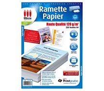 Papier ramette Micro Application  Papier Premium 120 g/m² 250 Feuilles