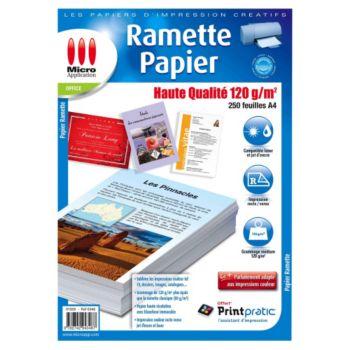 Micro Application Papier Premium 120 g/m² 250 Feuilles