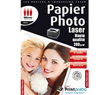 Papier photo Micro Application  Photo laser 200g/M2 - 50 feuilles