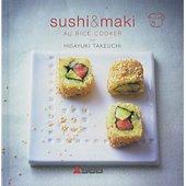 Livre de cuisine SEB Suhsi & Maki au Rice Cooker