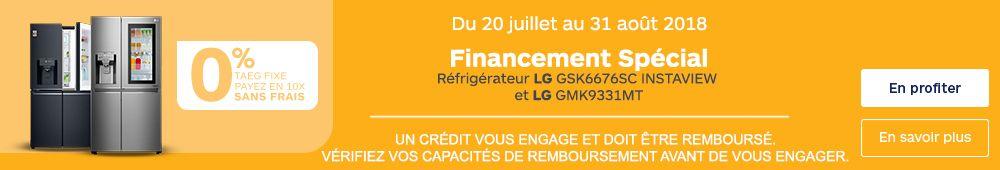 FINANCEMENT LG