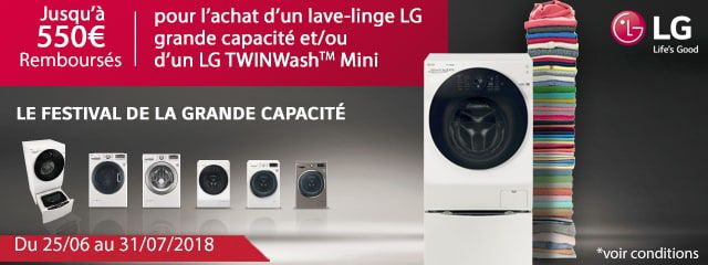 LG : OFFRE SPECIALE !