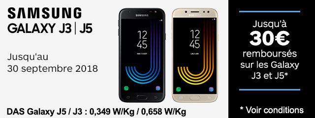 Offre Galaxy J3 / J5