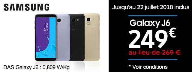 Offre Galaxy J6
