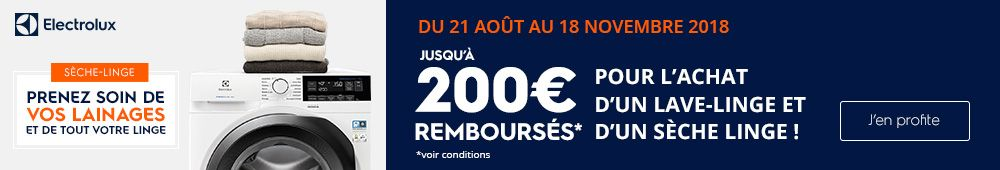 OFFRE ELECTROLUX !