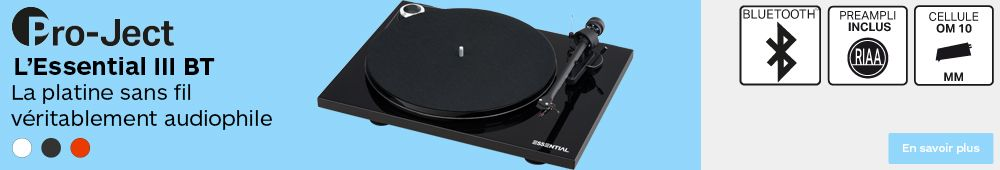 platine pro ject Essential