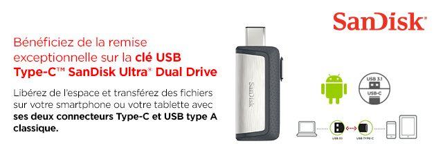 Cle OTG USB C