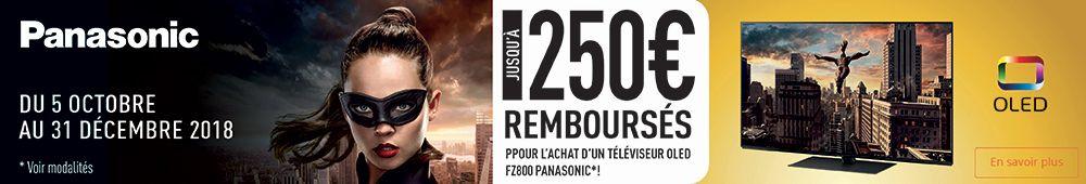 Offre de remboursement Panasonic