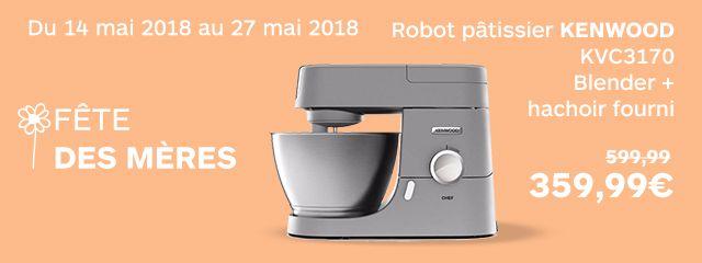 robot + blender + hachoir