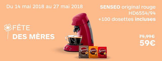 Senseo +100 dosettes
