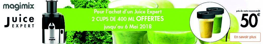 Offre juice expert