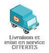 Livraison + mise en service <b>offerte</b>