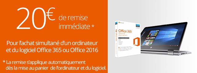 -20€ sur office