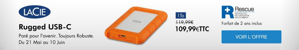 OFFRE LACIE RUGGED