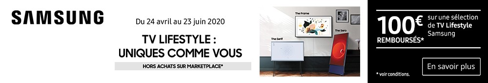 Offre Samsung The Frame