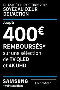 Offre TV Qled Samsung
