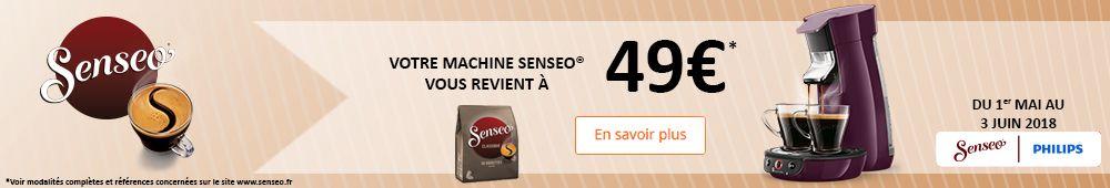 Senseo à 49€