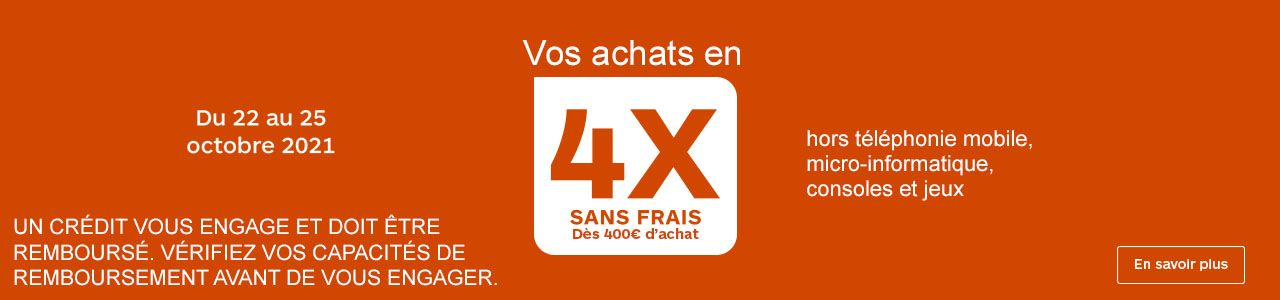 4X SANS FRAIS